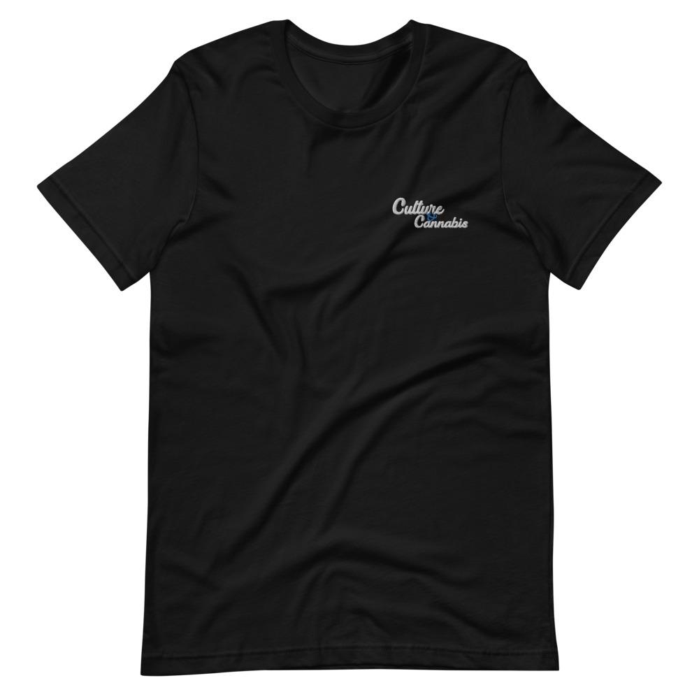 Black C&C Embroided T-Shirt