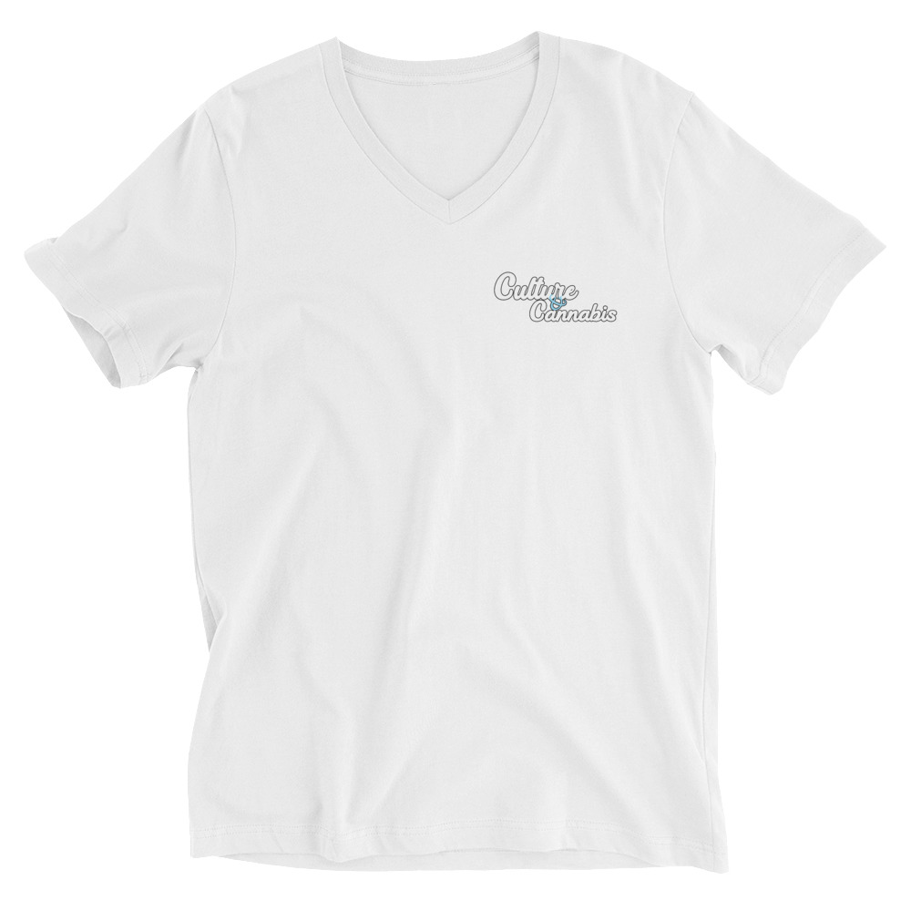 White C&C V-Neck